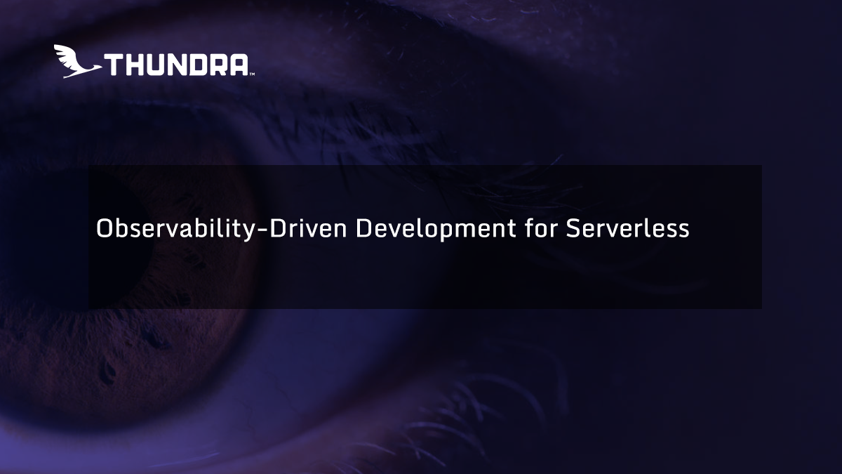 observability-driven
